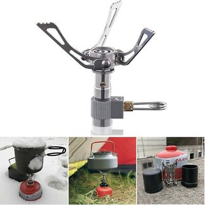 25g Titanium Alloy Outdoor Cooking Burner Folding Gas Stove BRS-3000T 2700W C2R2