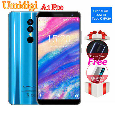 HANDY OHNE VERTRAG Android 8 FACE ID 5.5''HD 18:9 Umidigi A1 Pro 4G Smartphone