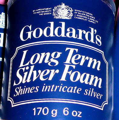 GODDARDS Silver Polish Foam 170g Silber Politur 227ml Antik Kunst ab€5.72/100
