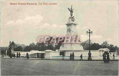 CPA Queen Victoria Memorial The Mail London