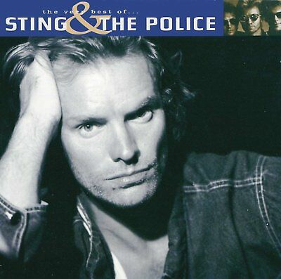 Sting And The Police The Very Best Of Cd Album (Greatest Hits)