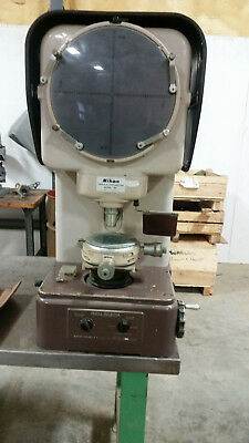 Nikon Model 6C Vertical Projection Optical Comparator Profile Projector