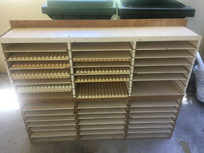 shelves for production of small parts