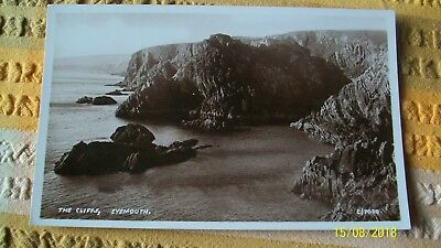 Postcard-- The Cliffs , Eyemouth , Berwickshire