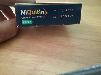 21mg niquitin clear patches STEP 1