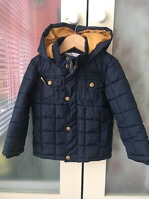 M&S BOYS Quilted jacket UK SIZE 2-3 YEARS