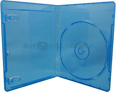 12mm Standard Blu-Ray 1 Disc DVD Case - 4 Piece