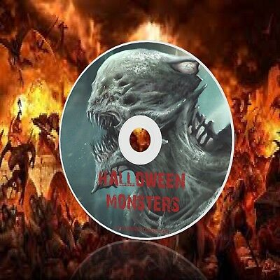 Halloween Sound Effects Cd: Monsters - Scary Party Spooky Zombie