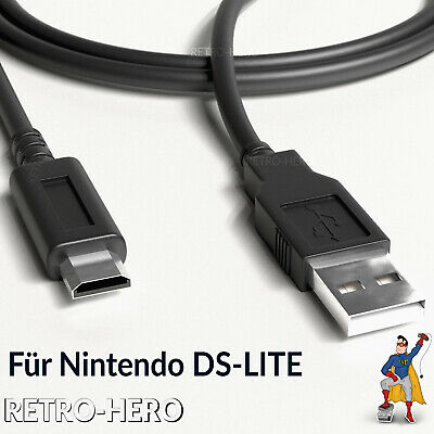 Nintendo DS lite NDSL 2 in 1 USB Charger Data Sync Power Cable Charging Lead NEW