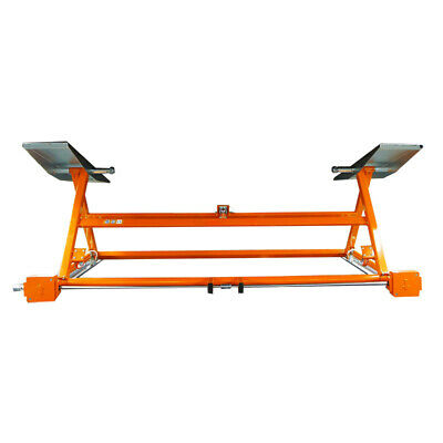 Mobile Hebebühne mechanischer mobiler Heber Orange