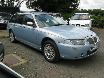 Rover 75 Tourer 1.8 Connoisseur SE, Nice Miles, Service history, Heated Leather