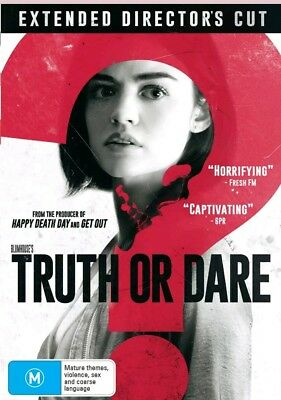 Truth Or Dare -( Extended Director's Cut) DVD NEW