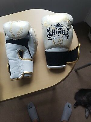 Top King 12oz muay thai boxing gloves, not yokkao fairtex twins boon sandee