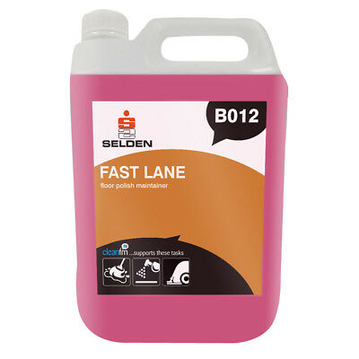 Selden B012 Fast Lane Floor Polish Maintainer - 5 Litres - FREE 48 HOUR DELIVERY
