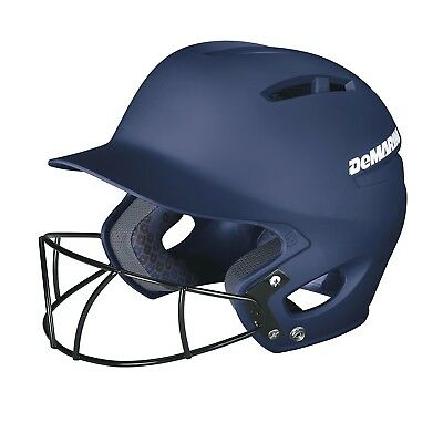 (Small (6 7/8 - 7), Navy) - DeMarini Paradox Fitted Pro Batting Helmet with