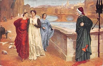 """""""Dante and Beatrice"""" by Henry Holiday, Walker Art Gallery"""