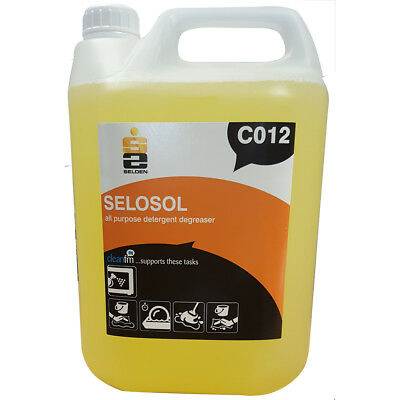Selden C012 SELOSOL All Purpose Degreaser - 5 Litres - FREE 48 HOUR DELIVERY