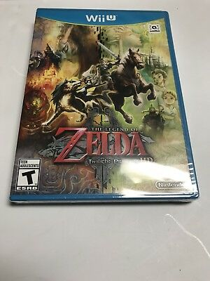 The Legend of Zelda Twilight Princess HD for Nintendo Wii U *BRAND NEW & SEALED*