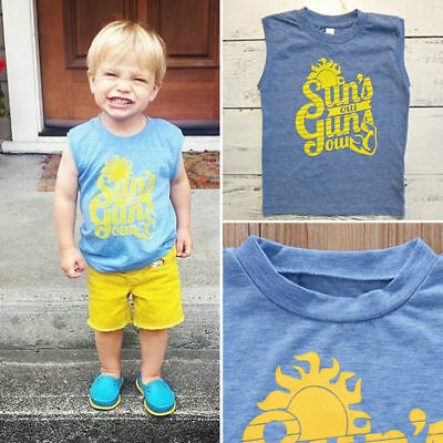 1-5 Years Baby Boy Short Sleeve T-shirt Summer Cotton Clothes Casual Wear