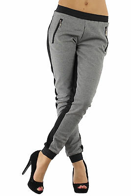 Damen Mädchen Girls Jogging Fitness Freizeit Sport Hose Sweathose Pants Baggy