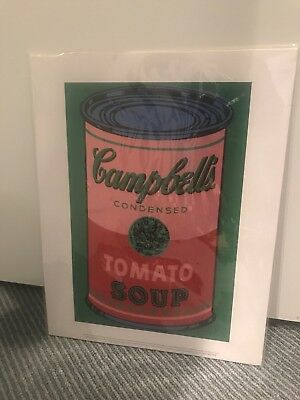 Andy Warhol Print Campbells Condensed Soup