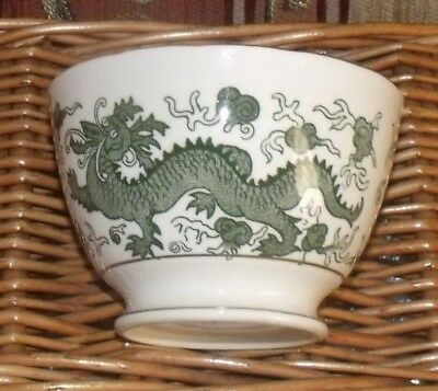 Vintage Delphine China Dragon Design Sugar Bowl