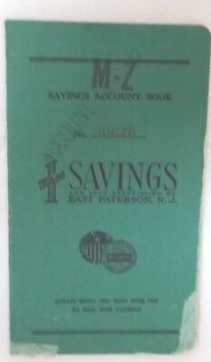 Vintage 1959 First Savings & Loan Association of East Paterson Deposit Book
