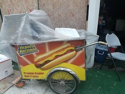 Push Hot Dog Cart No BURNERS AS IS LOCAL PICKUP