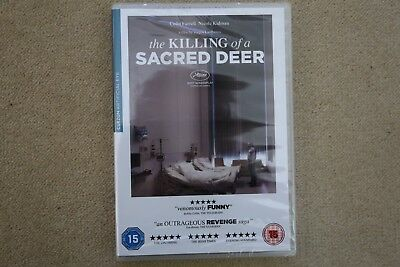 The Killing Of A Sacred Deer     Brand New Sealed Genuine  Uk Dvd