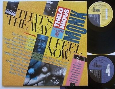 2LP: That's The Way I Feel Now - A Tribute To Thelonious Monk (A&M; Topzustand)