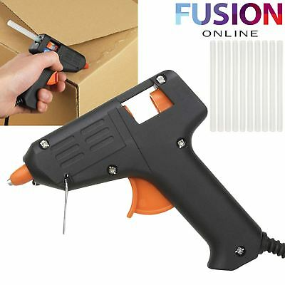 Glue Gun Hot Melt Trigger Electric Adhesive Sticks For Hobby Craft Mini Diy