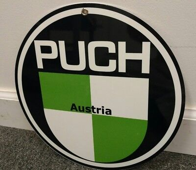 Puch Scooter Motorcycle motorcycles sign ... Austria