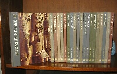 TIME-LIFE:  GREAT AGES OF MAN        complete 21 vols -  (HC,  GC  history )