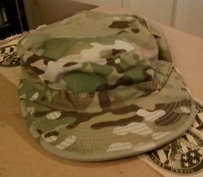 Never Worn Army OCP Patrol Cap Size 7 3/8 Shipping Included