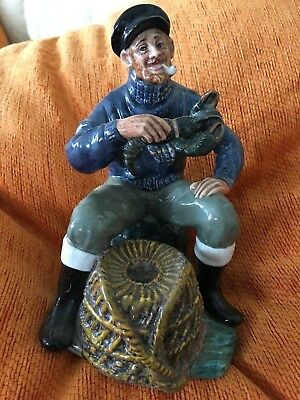 Royal Doulton Retired Figurines The Lobster Man  HN2317