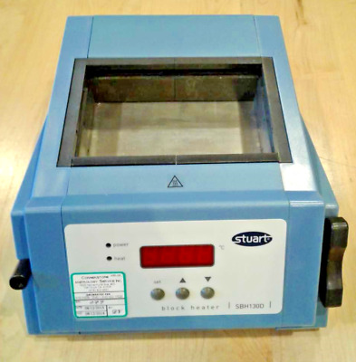 Stuart Digital Display Model SBH-130D Block Heater / Dry Bath Incubator
