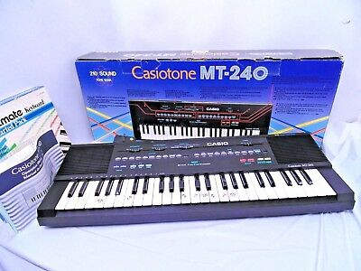Casio Casiotone MT-240 Electronic Keyboard 210 Sound Tone Bank- EXCELLENT