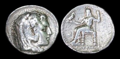 Tetradrachm Philip III Arrhidaios, after Alexander III, the Great, Babylon Mint.
