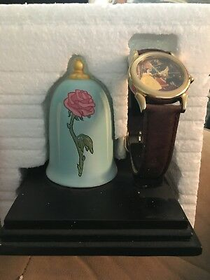 Beauty & The Beast Disney Everlasting Time Watch Collectors Club