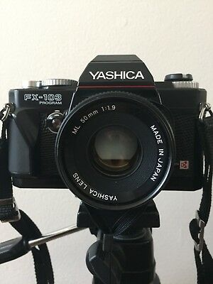 Yashica FX-103 Program, 50mm & 42-75mm lens and Accessories *** EXCELLENT ***