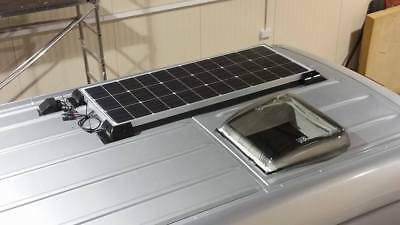 100w Solar Panel Kit with Dual Battery Module – Supplied & Fitted £399.00