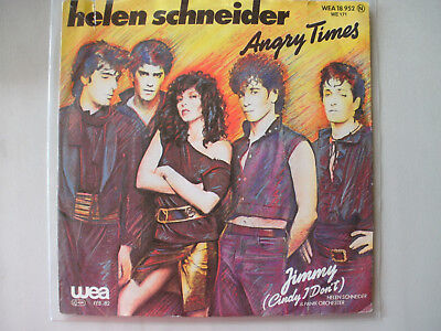 "7"" Single Helen Schneider : Angry Times"