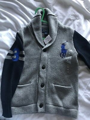 Ralph Lauren Chunky Knit Cardigan Age 5
