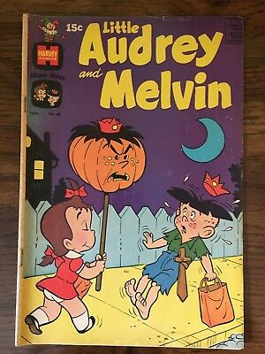 Little Audrey and Melvin Comic 1970 #48