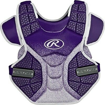(Purple/White) - Rawlings Sporting Goods Softball Protective Velo Chest