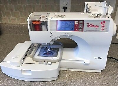 Brother Se 270d Disney Computerized Sewing Machine Embroidery Combo