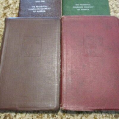 Prudential vintage rate books (3)
