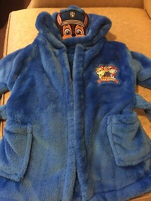 Paw Patrol Dressing Gown Age 12-18 Months