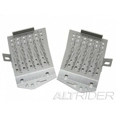 AltRider Radiator Guard for the BMW R1200GS Water Cooled - Silver