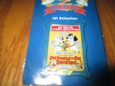 NEW 12 Months of Magic 101 Dalmatians Poster Pin Disney Store Movie Dog Dogs NIP